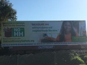 Queenkay on Giant billboard